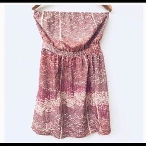 Urban Outfitters Ecoté tie-back strapless Dress